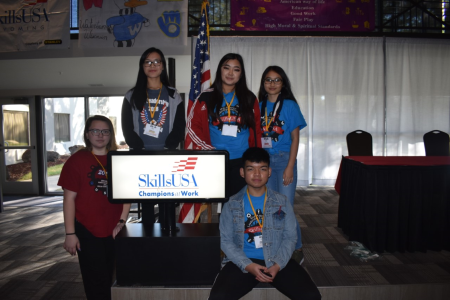 Members of Skills USA