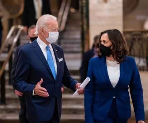 President Joseph R. Biden and Vice President Kamala Harris.