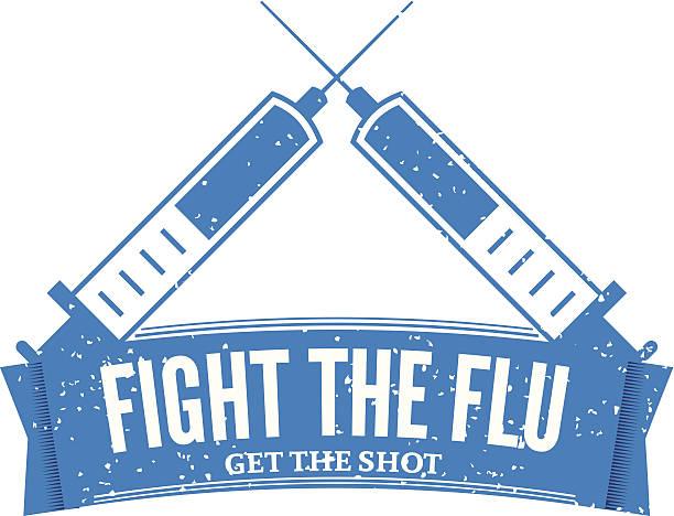 Flu Shot Stamp Icon